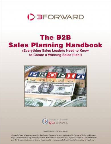 business to business sales action planning example