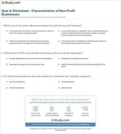 characteristics of nonprofit businesses1