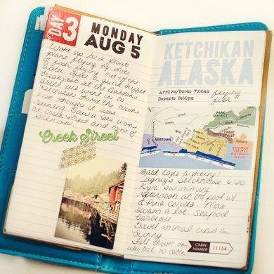 colorfu travel journal