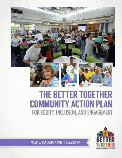 community action plan for equity inclusion and engagement example