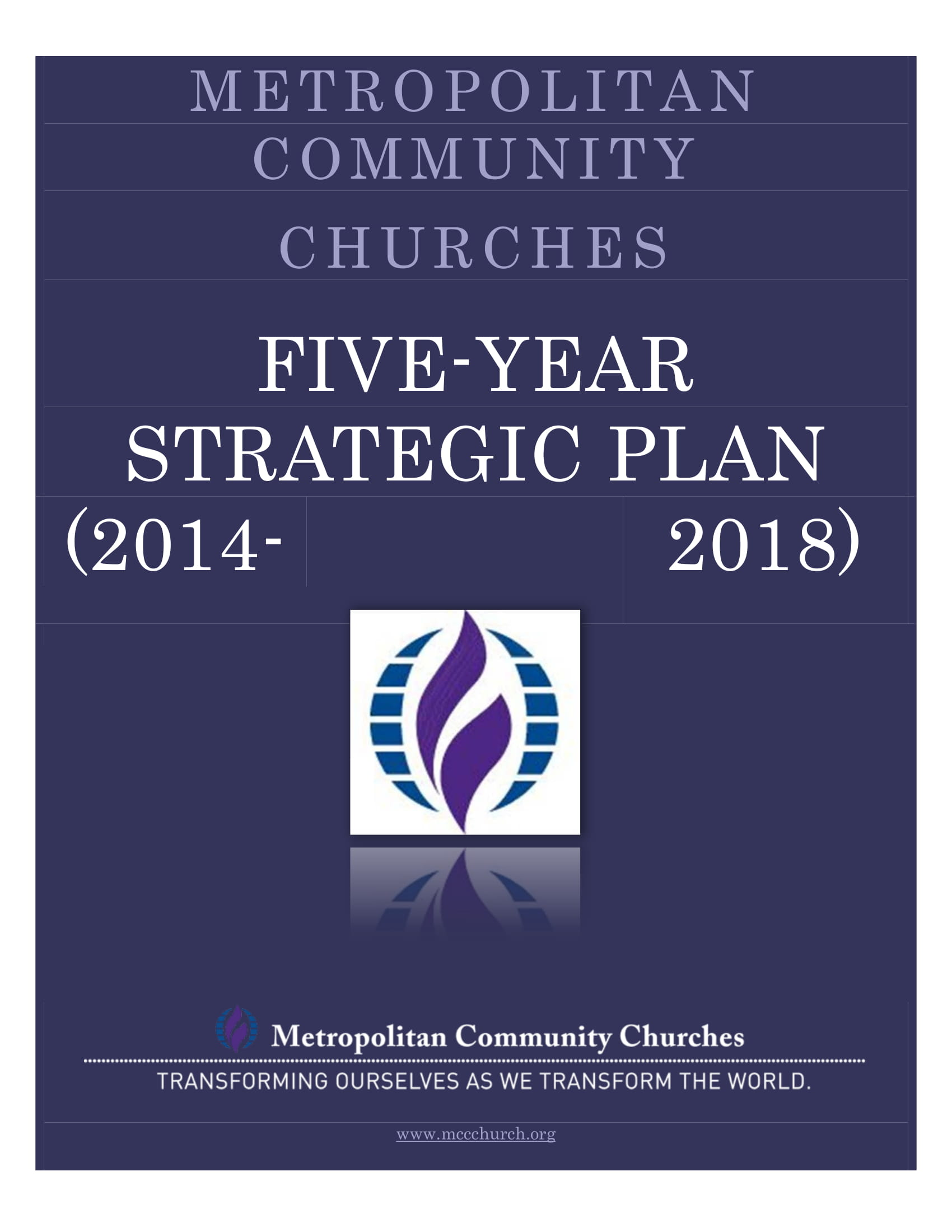 community churches 5 year strategic plan example 01