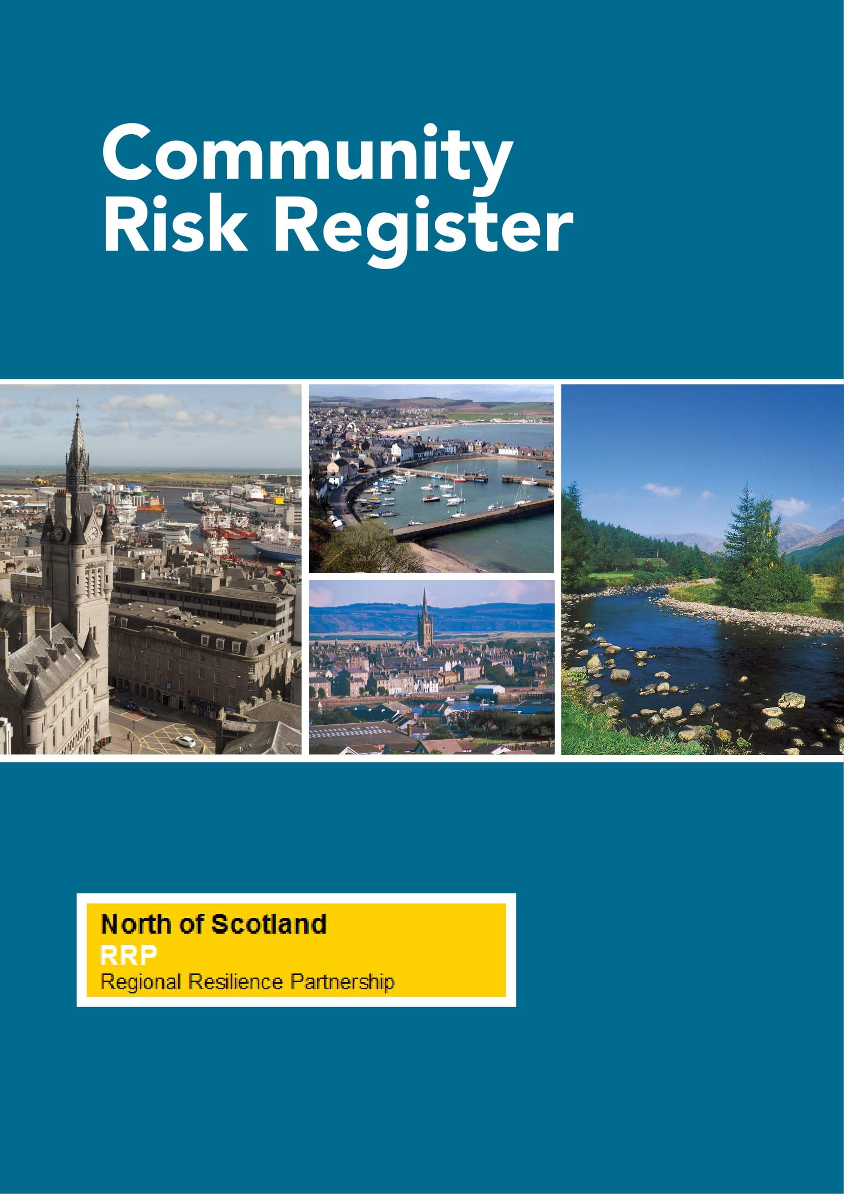 community risk register example