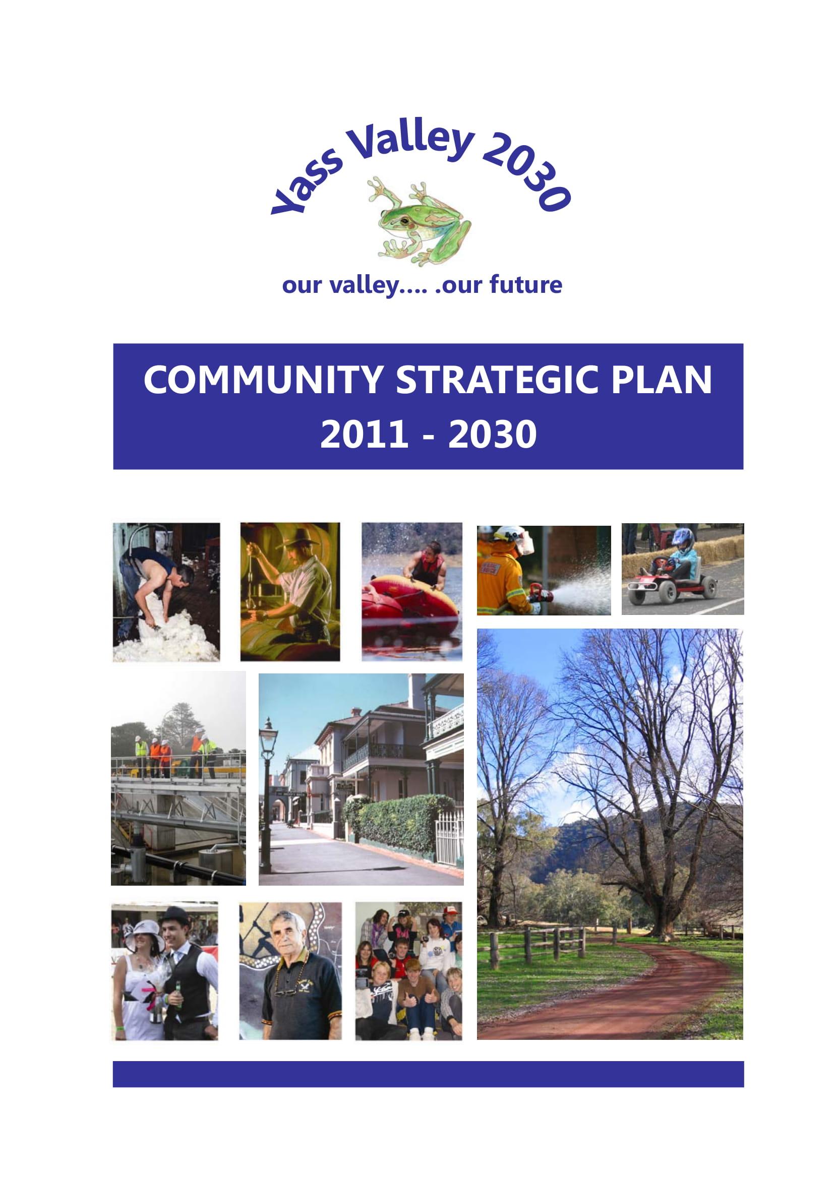community strategic plan example 01