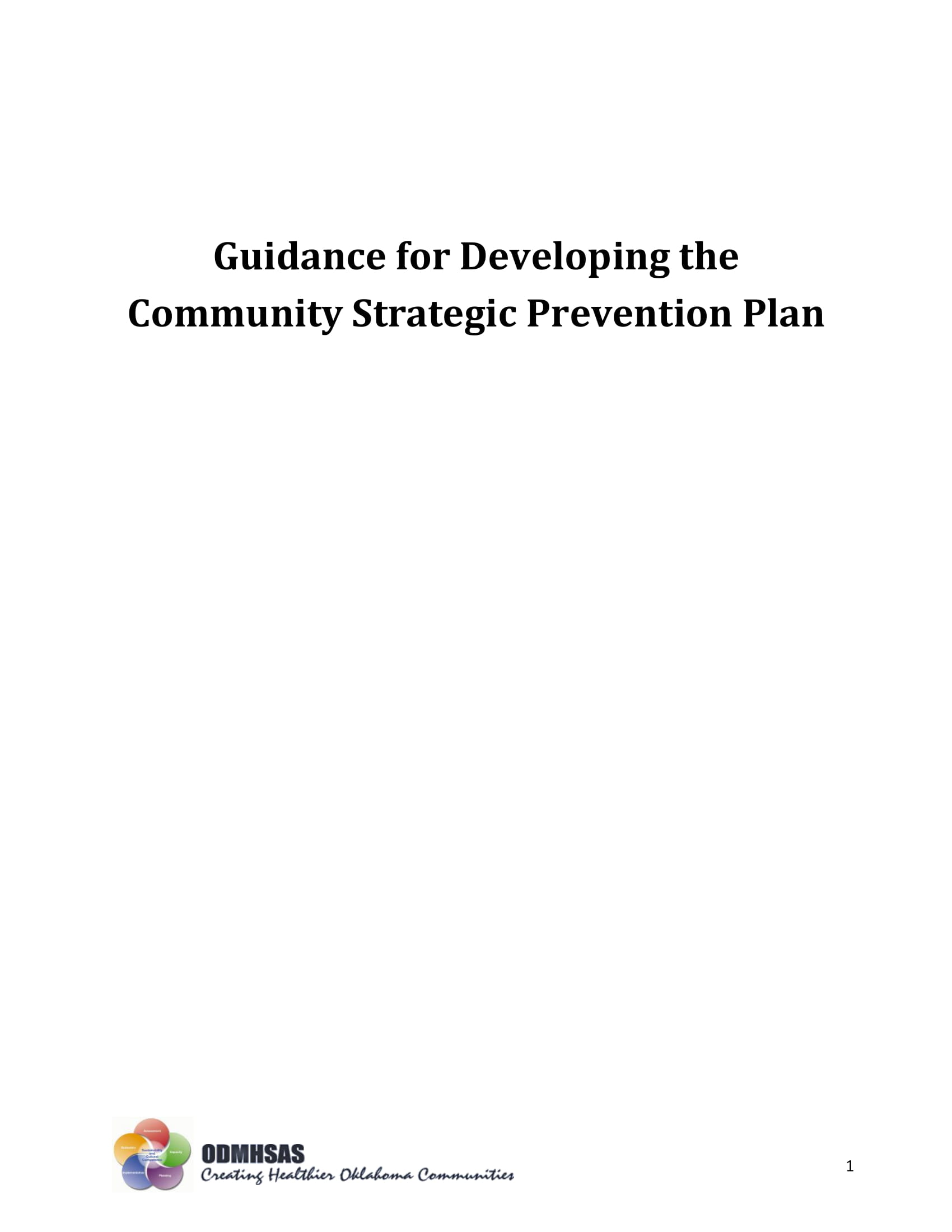 community strategic prevention plan guidelines and example 01