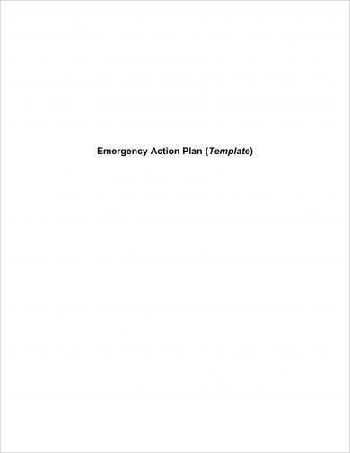 company emergency action plan example1