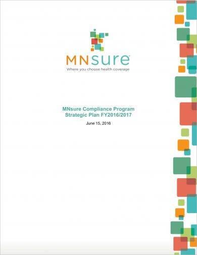 compliance program strategic plan example