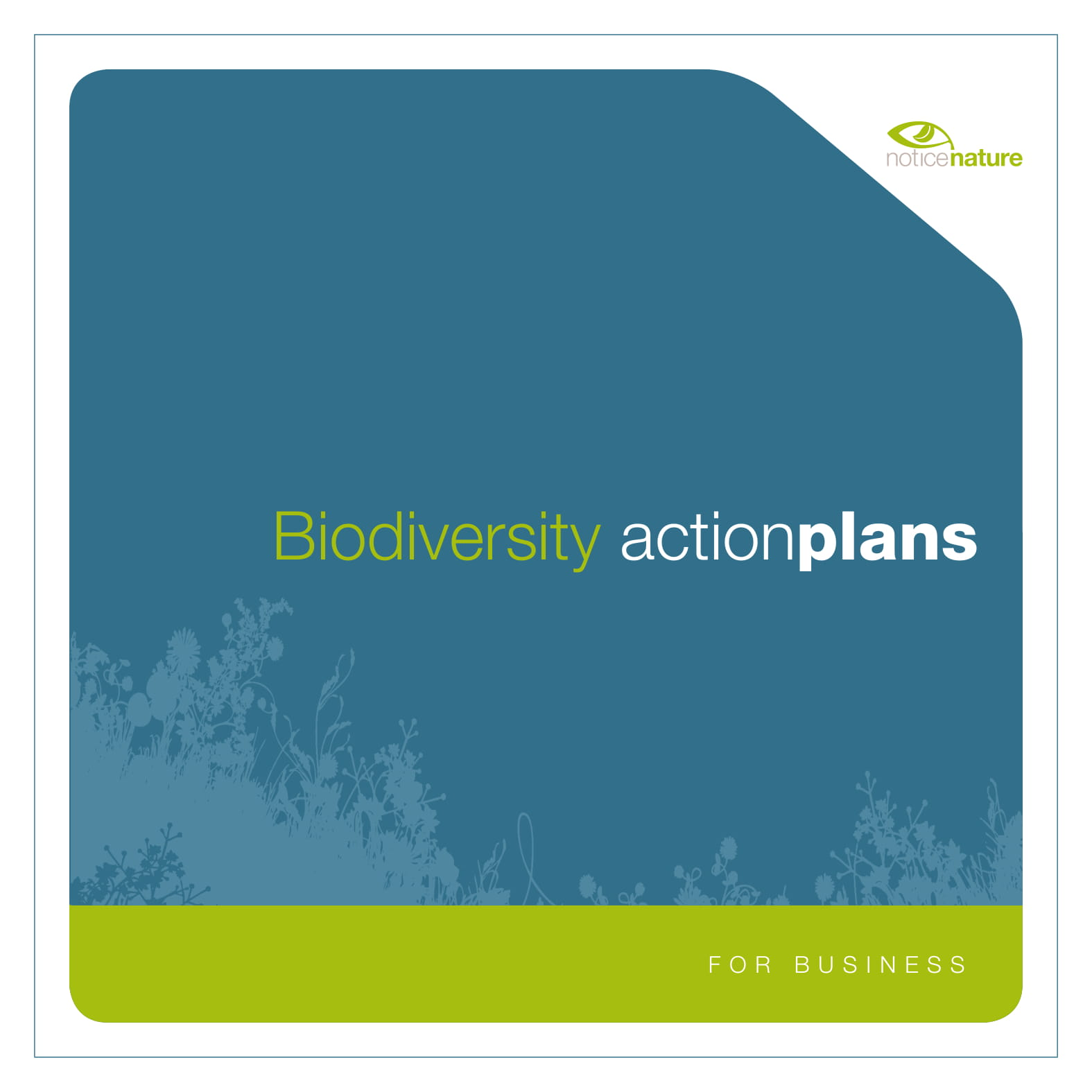 comprehensive biodiversity action plan example 1