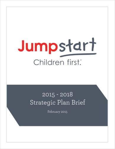 comprehensive brief strategic plan example1
