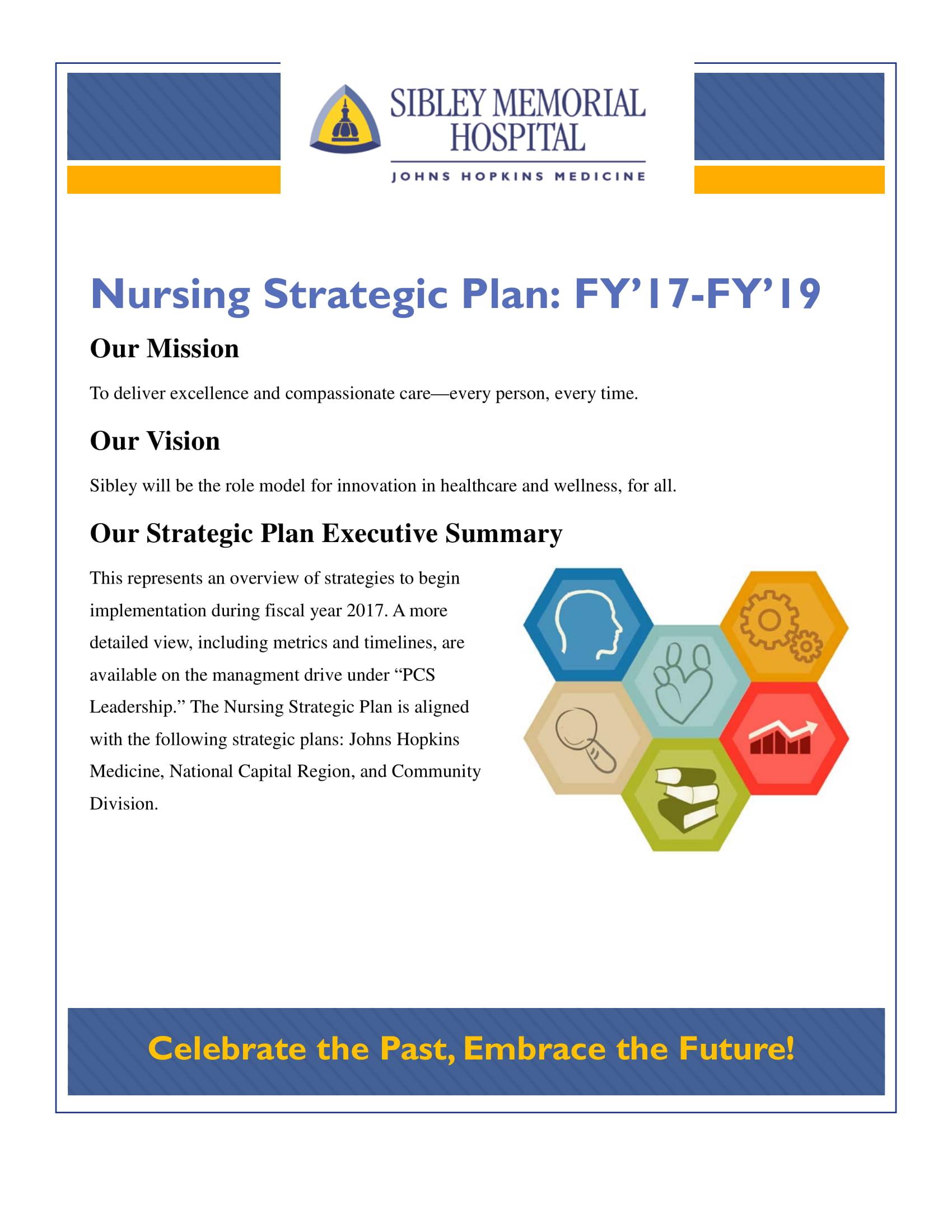comprehensive nursing strategic plan example 1