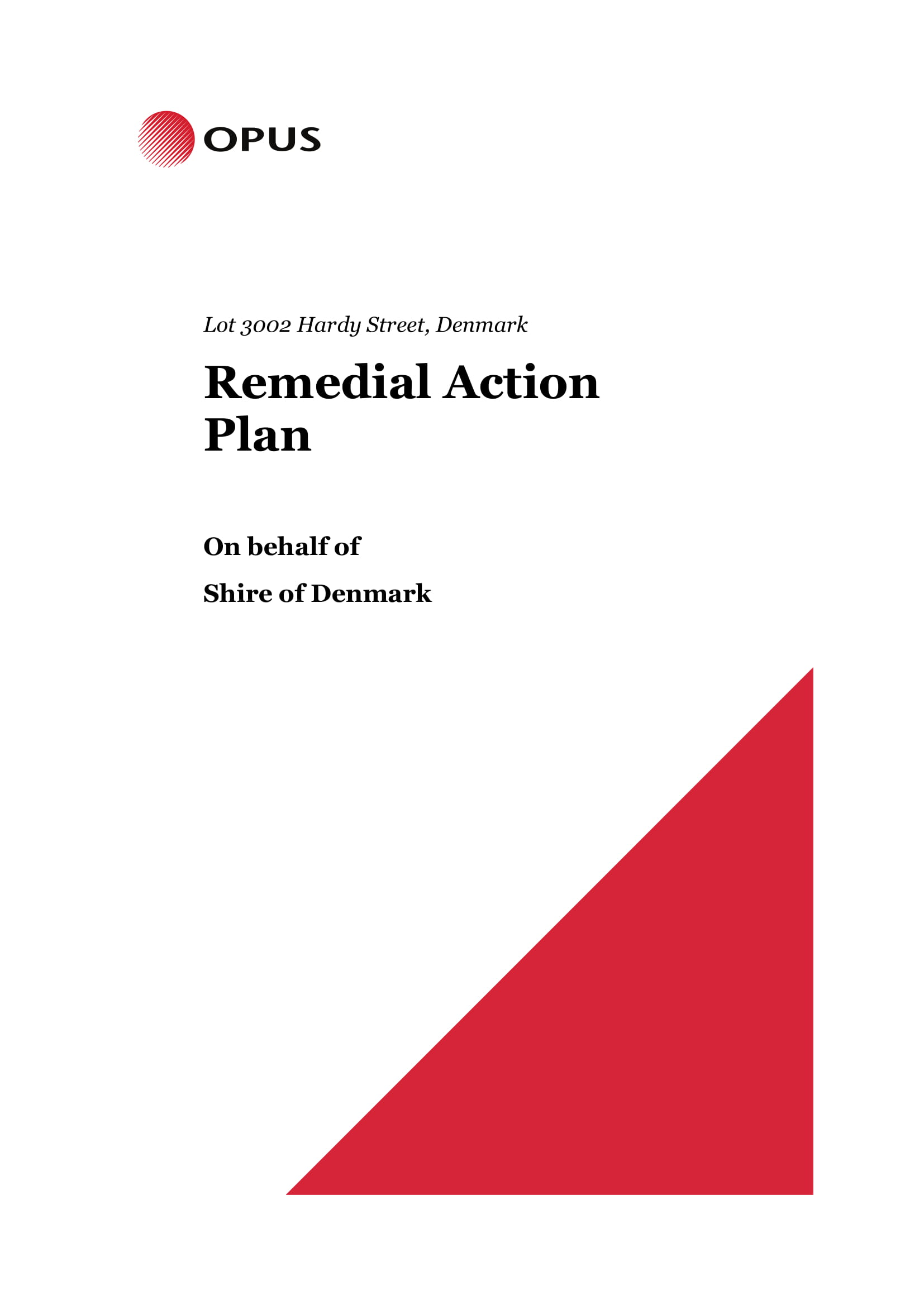 comprehensive remedial action plan example 001