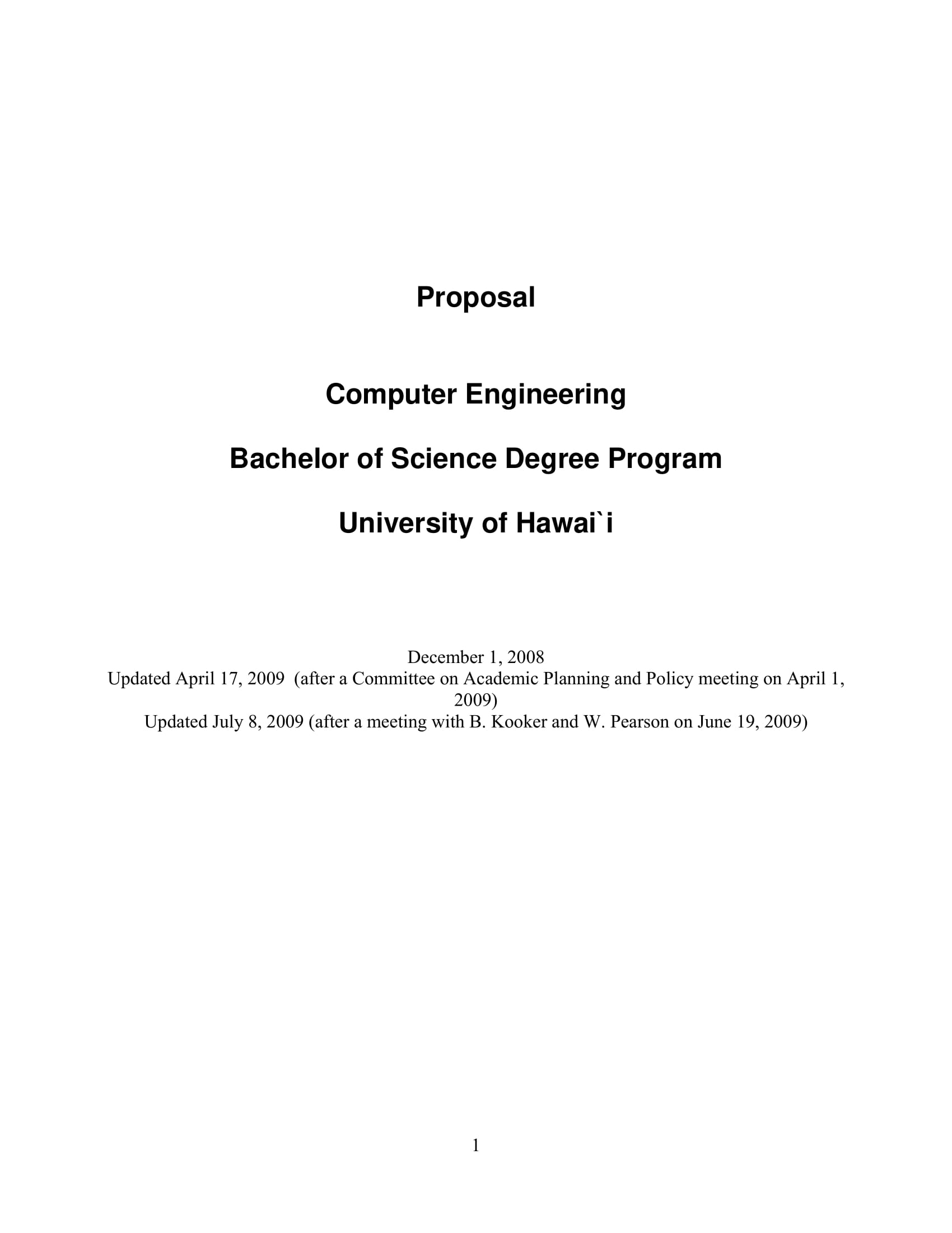 9 Engineering Project Proposal Examples Pdf