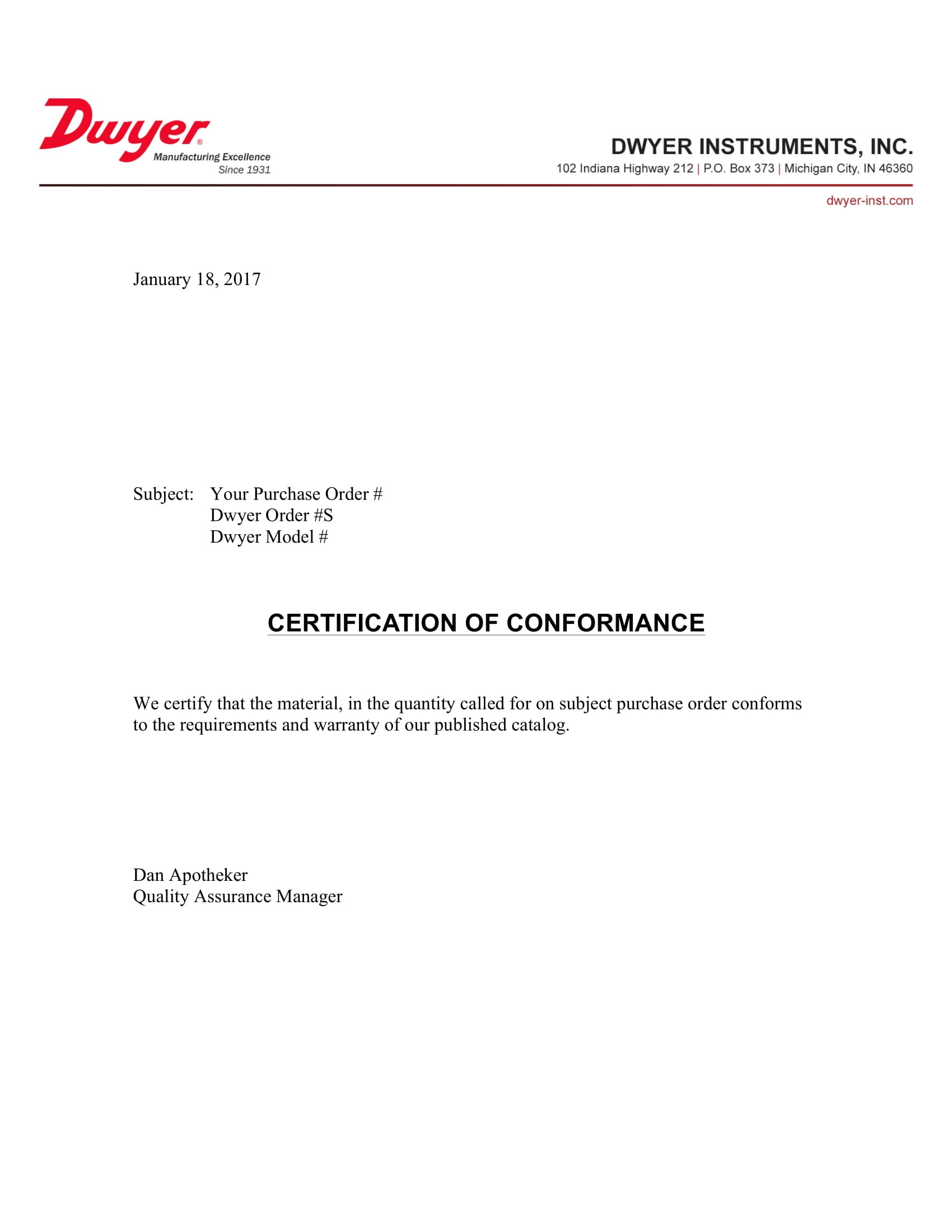 Concise-Certificate-of-Conformance-Example Quality Of Conformance Example on printable certificate, kintana non, generic certificate, aircraft certificate, manufacturer certificate, matrix template api,