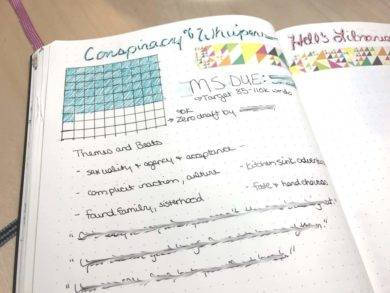 conspiracy and whisper journal