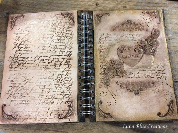cool and vintage writing spring notebook1