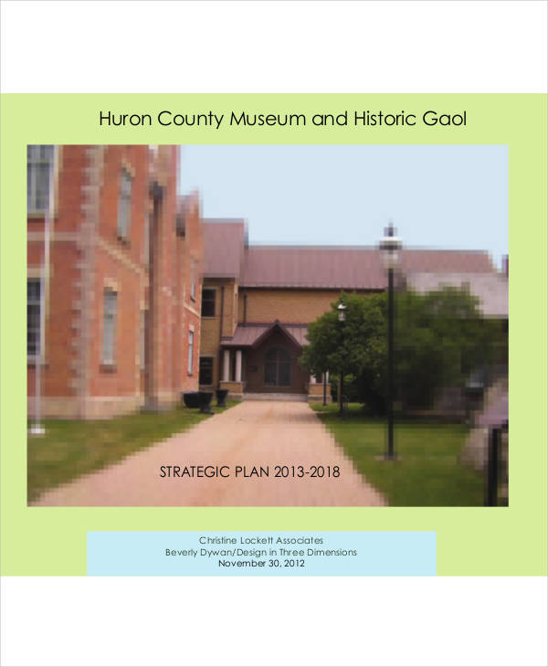 county museum and historic gaol strategic plan