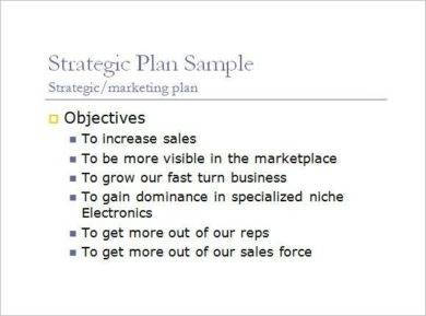 daily sales plan presentation example1