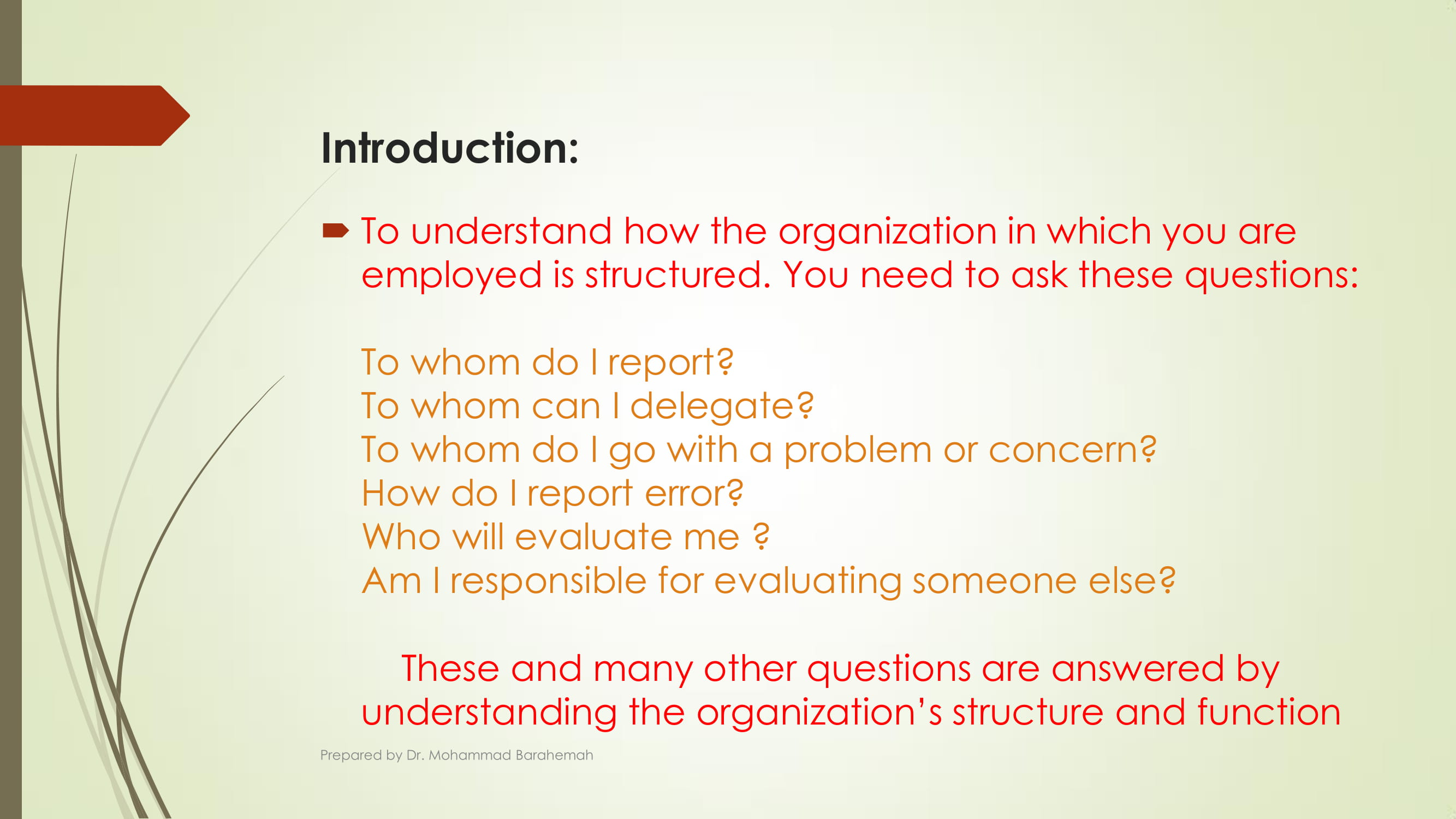 detailed free organizational chart example