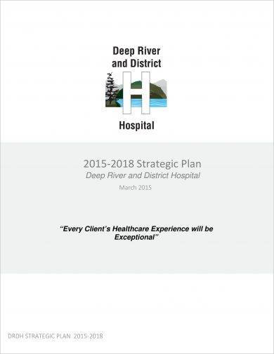 detailed hospital strategic plan example