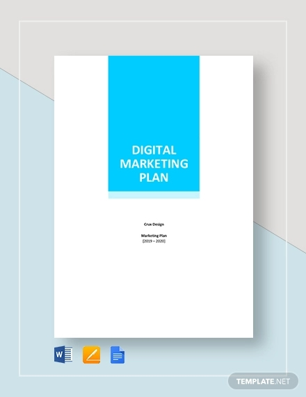 digital marketing plan template3