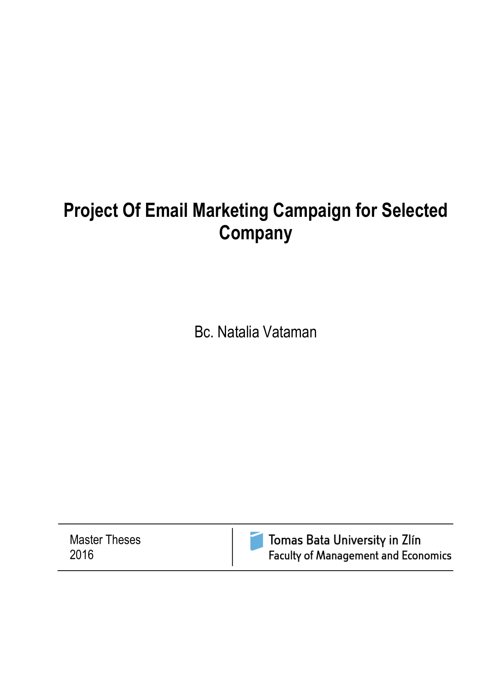 email marketing campaign project plan example 01