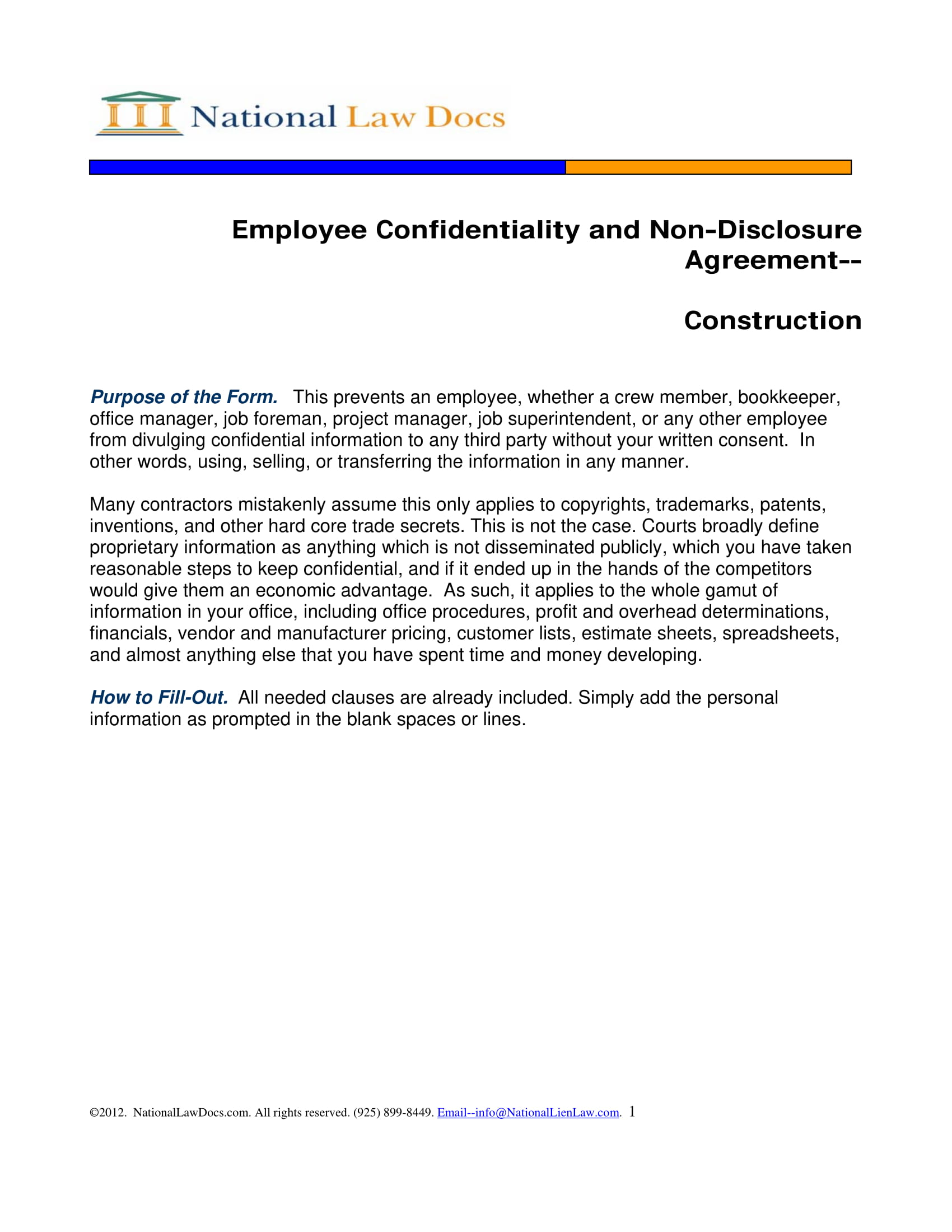 10 Employee Confidentiality Agreement Examples Pdf Word