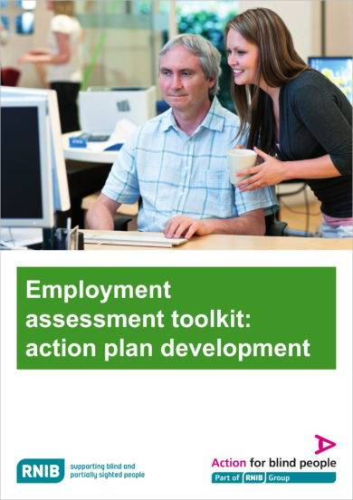 employment assessment toolkit action plan development example