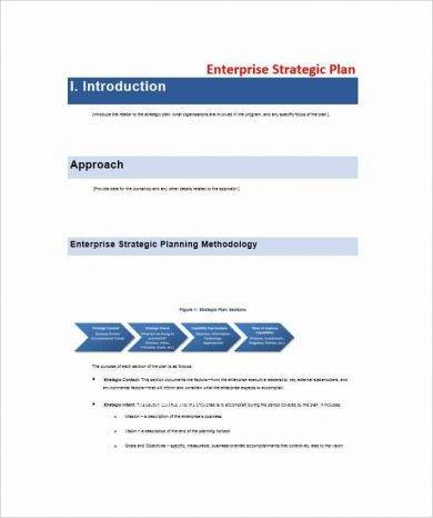 enterprise strategic plan example1