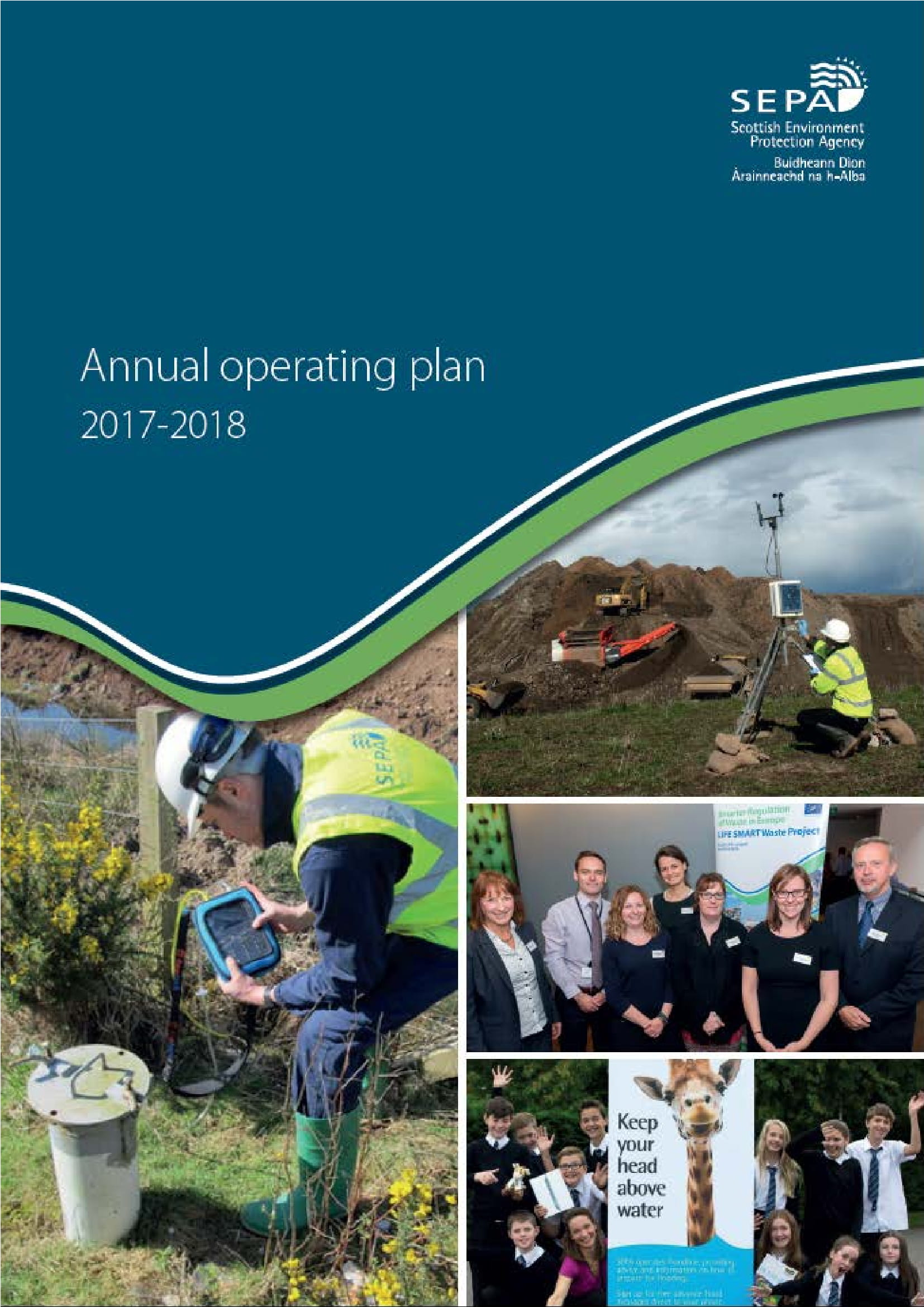 environment agency annual operational plan example