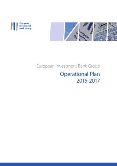 european investment bank group project operational plan example1