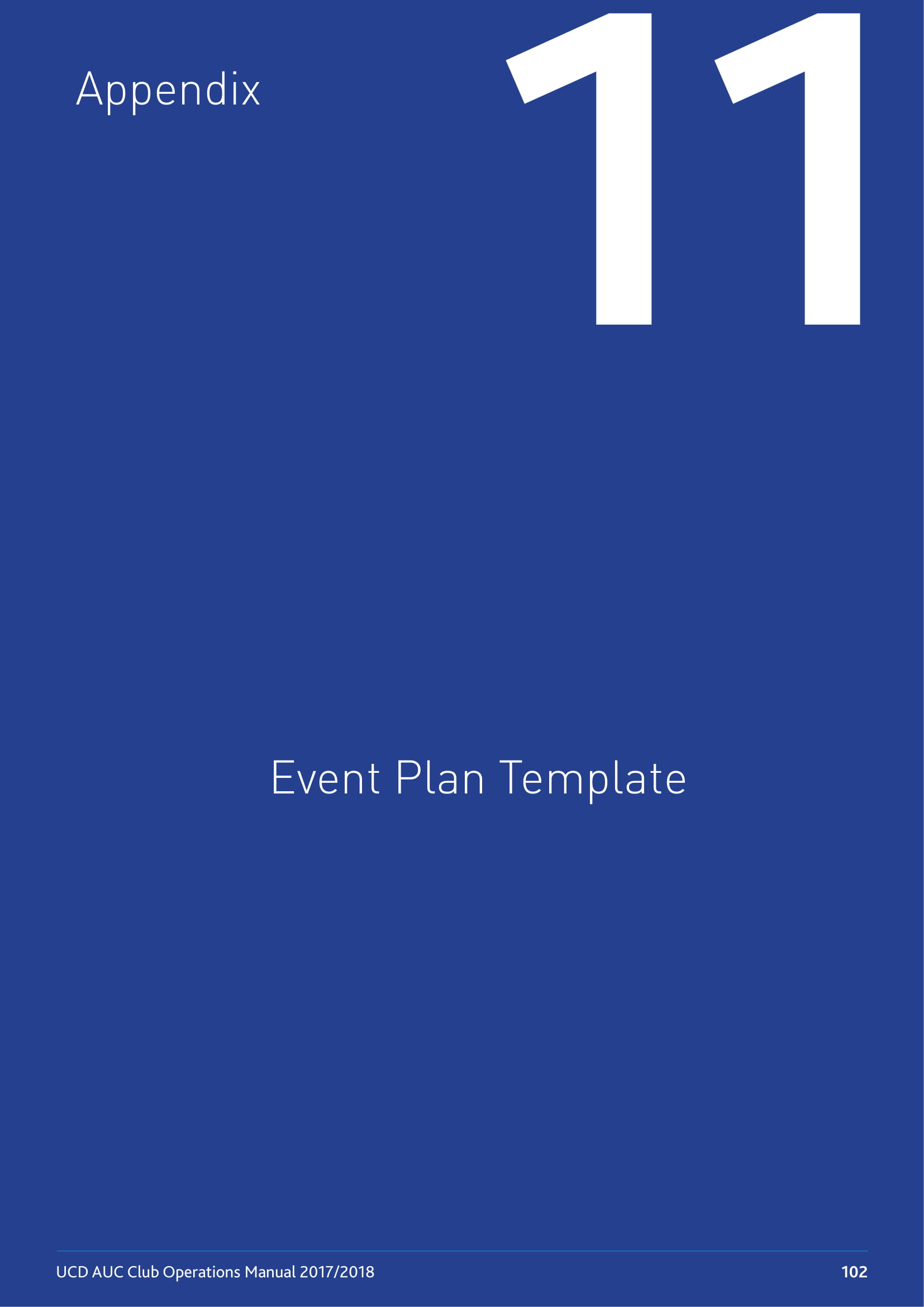 event plan for effective event operations example 1