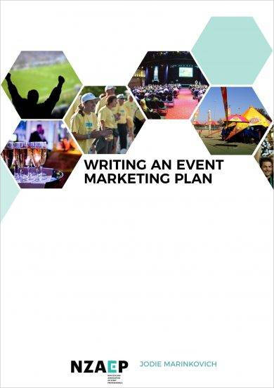 event project marketing plan example
