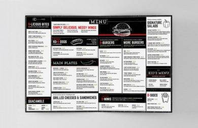 example menu of a food truck1