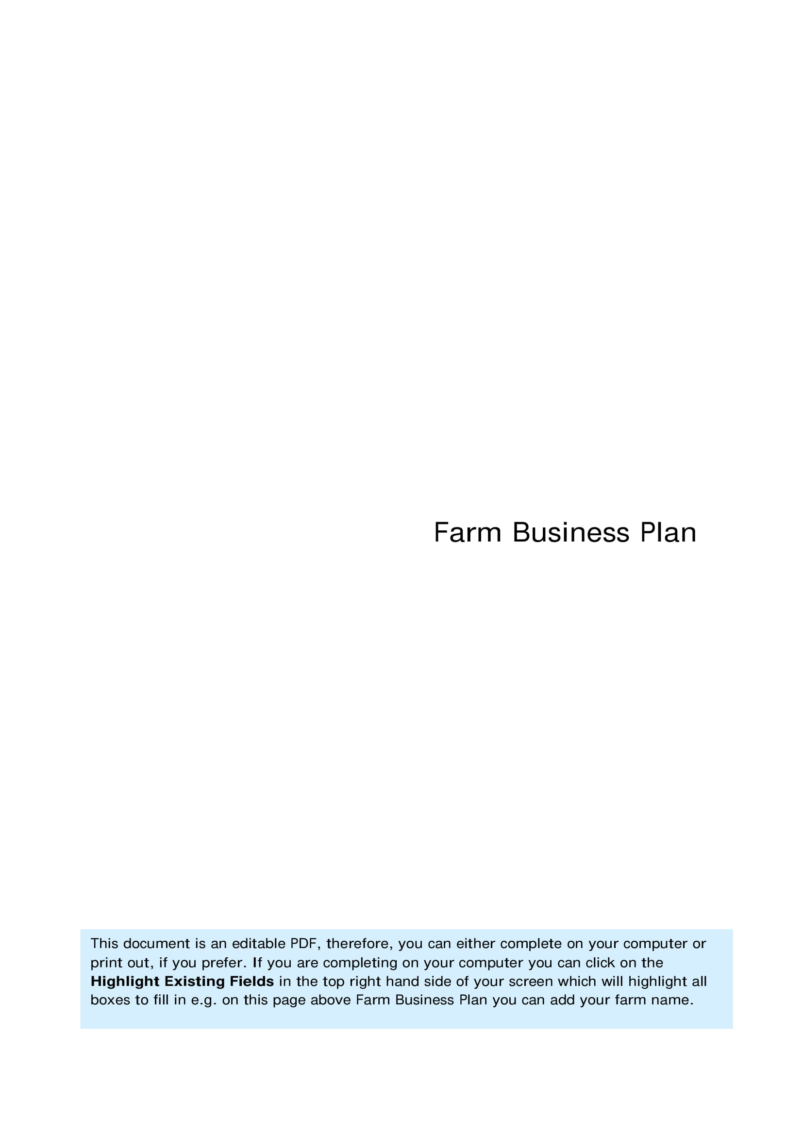 farm business plan example 01