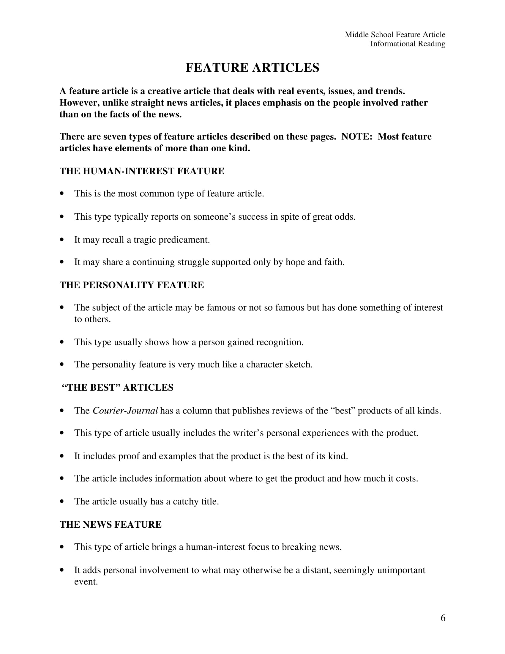 9 Article Writing Examples For Students Pdf Doc Examples