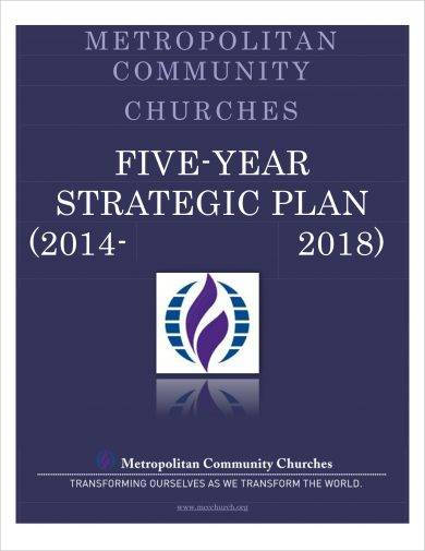 final five year strategic plan example