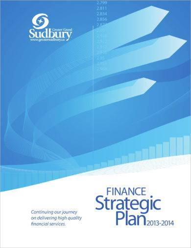 finance department strategic plan example