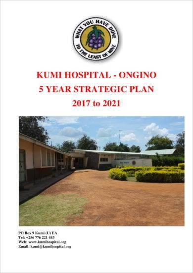 five year hospital strategic plan example