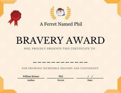 formal bravery award certificate example1
