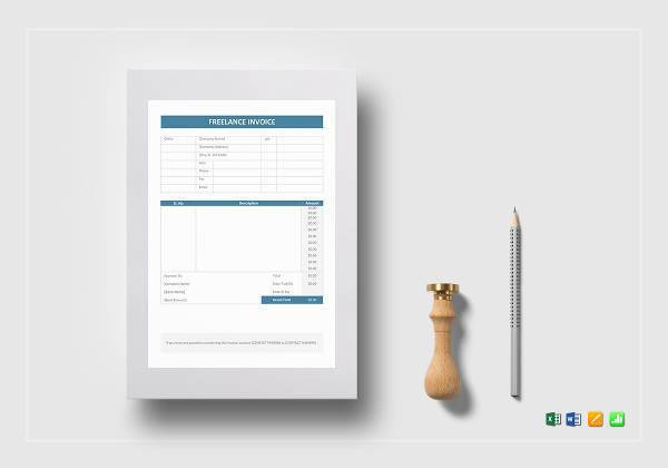 freelance invoice example1