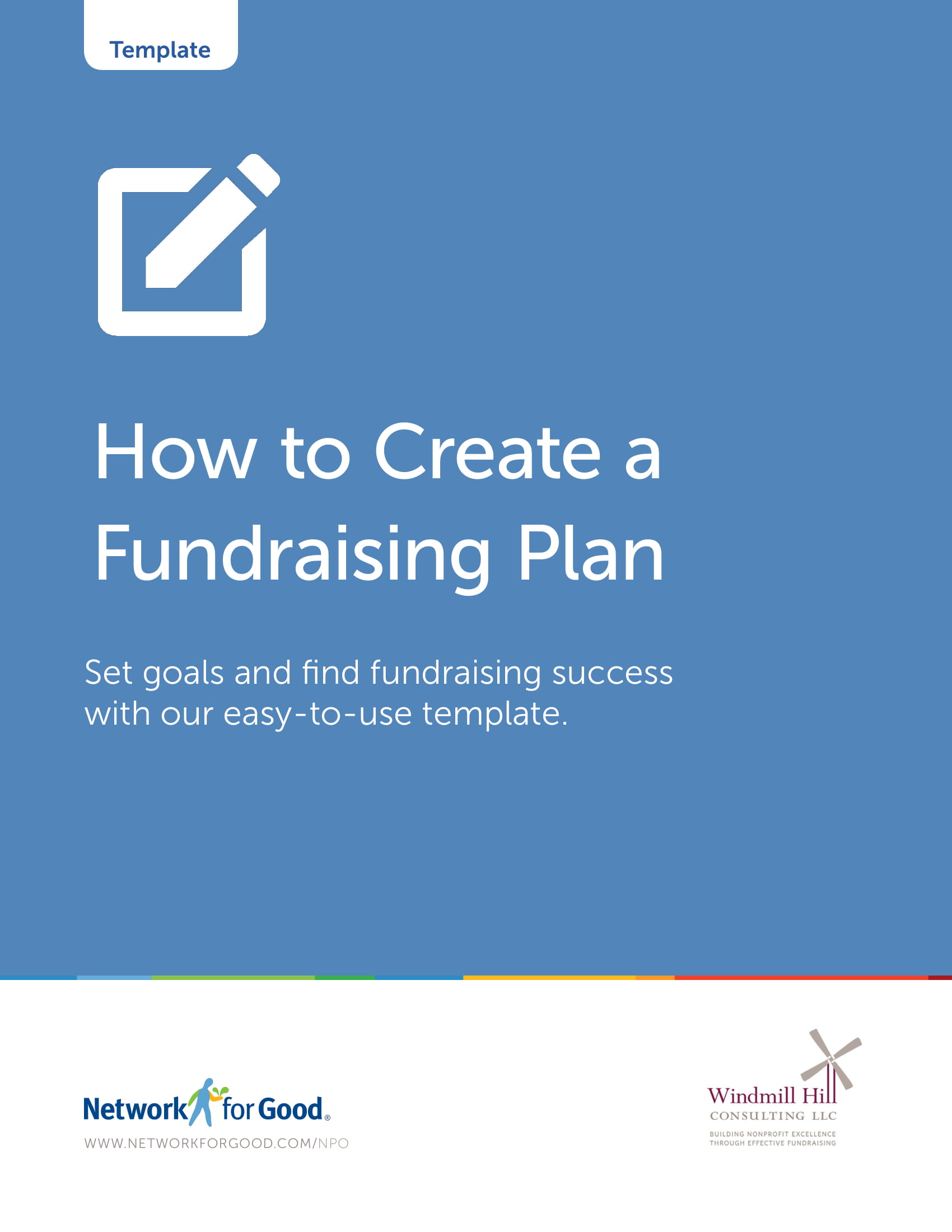 fundraising plan guide example 01