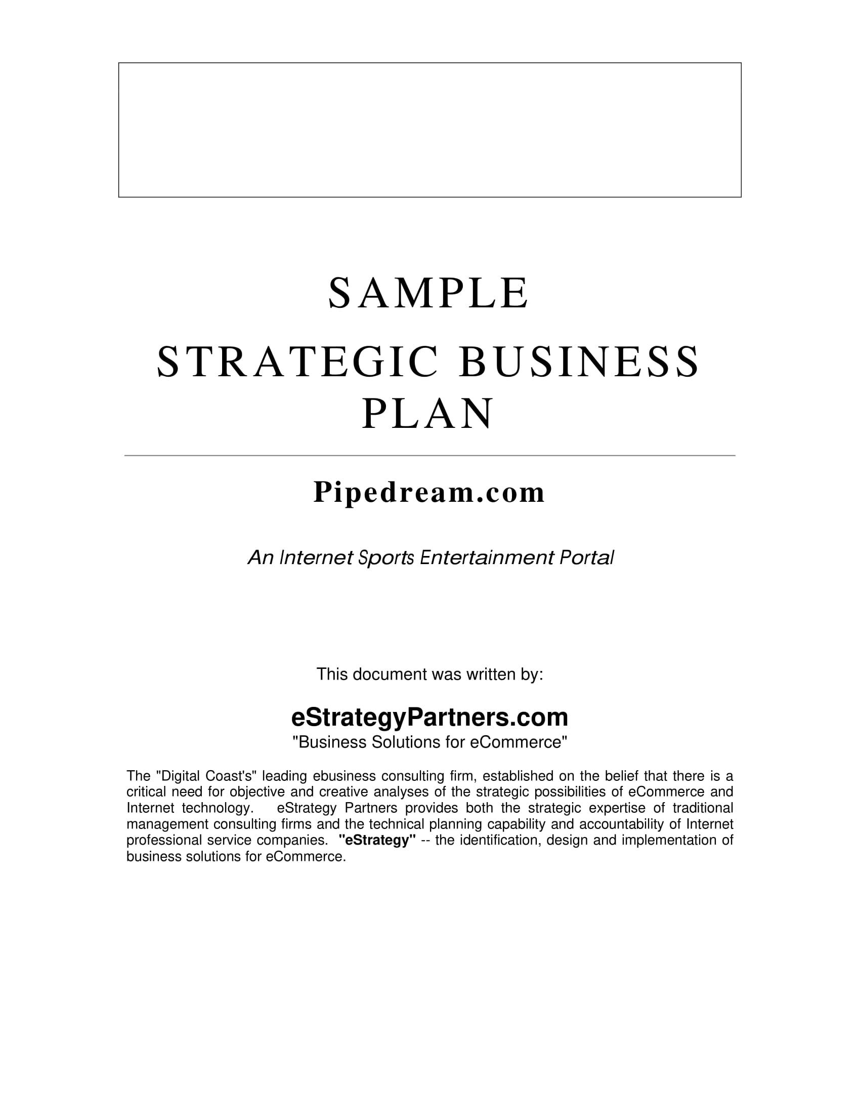 9 strategic marketing plan examples pdf