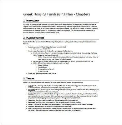 greek housing fundraising plan1