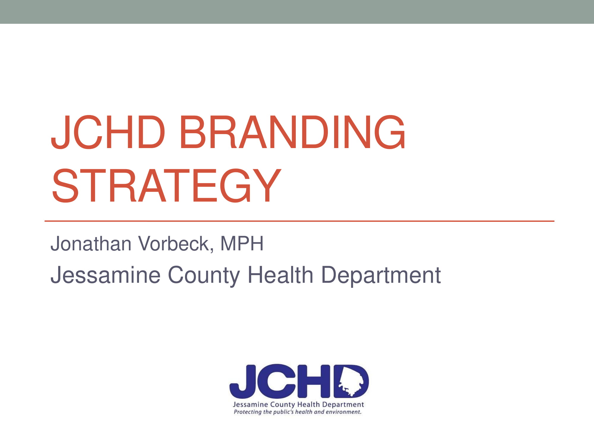 health department branding strategy plan example