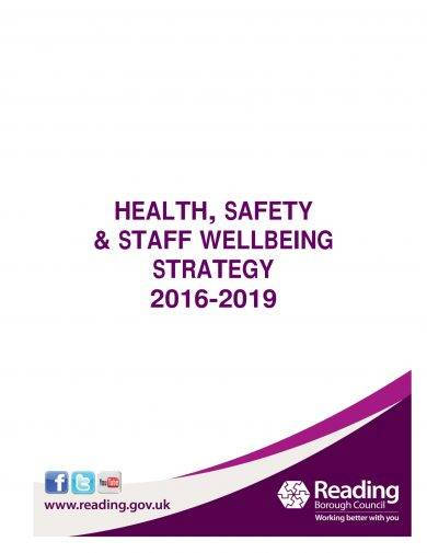 health safety and staff well being strategy plan example