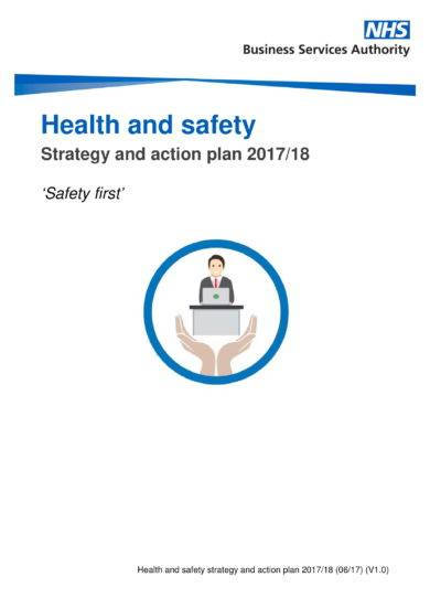 health and safety strategy and action plan example