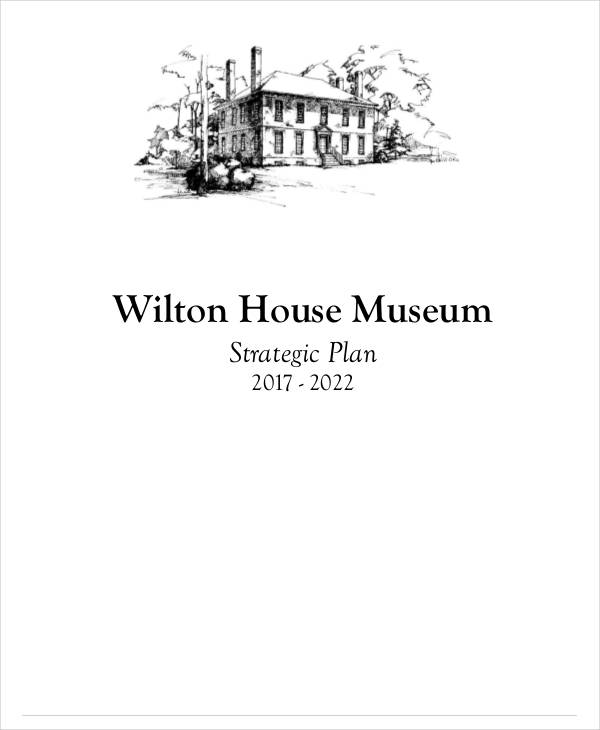 house museum strategic plan