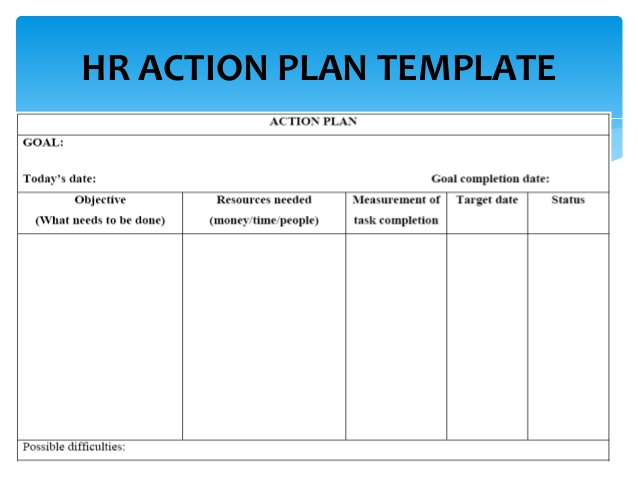 7 human capital strategic plan examples pdf for Human capital strategic plan template