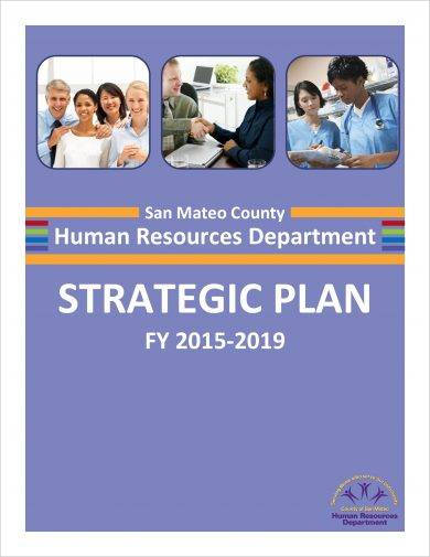 human resources department strategic plan example