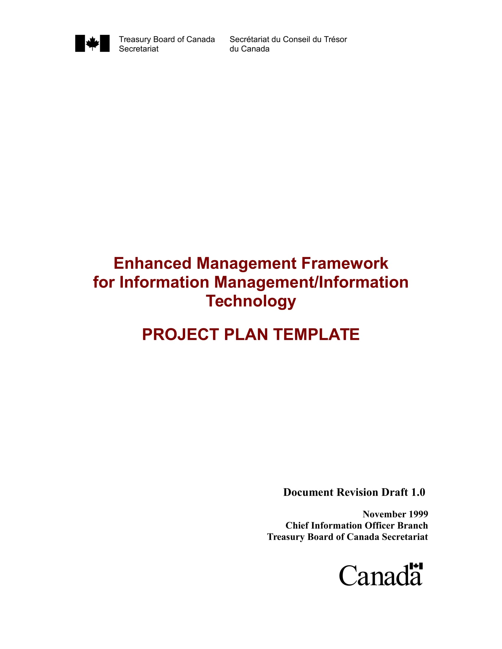 it project action plan example 01