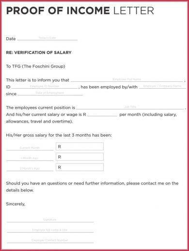 income verification letter format example1